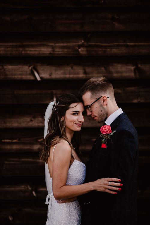 Cute Couple At Primrose Hill Farm Wedding