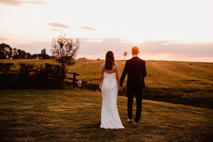 Beautiful Sunset At Primrose Hill Farm Wedding Venue