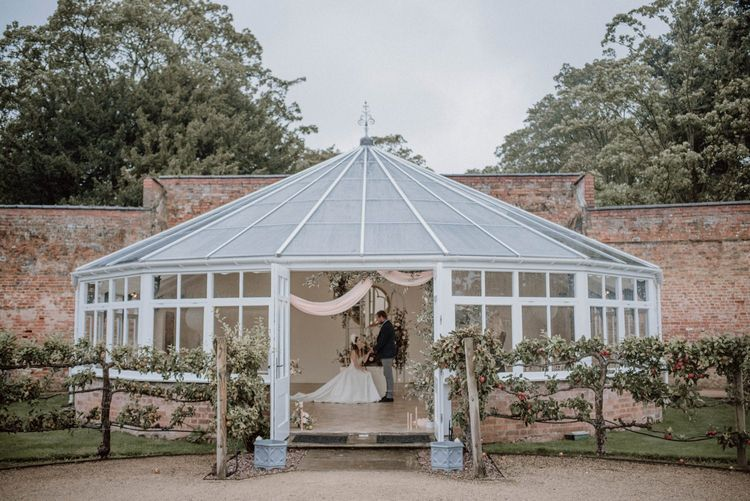 Combermere Abbey Glasshouse Ceremony Room