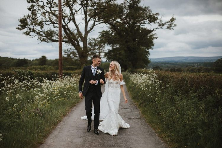 Bride and Groom For Welsh Wedding