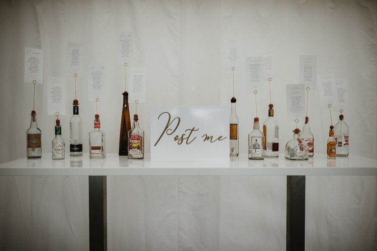 Hot Sauce and Tequila Bottle Table Plan