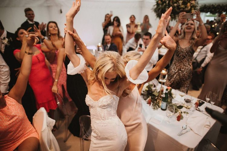 Bride Dances To Mariachi Band Music