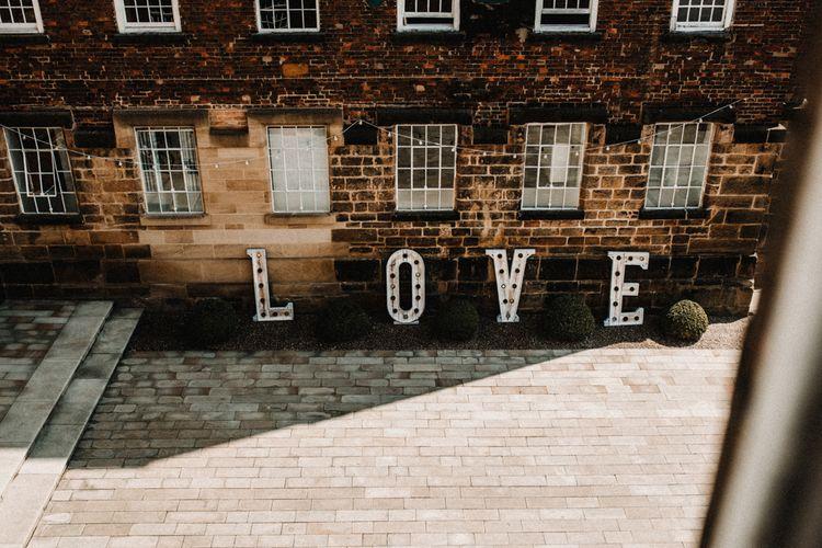 LOVE Letters For Wedding // ImageBy Carla Blain Photography