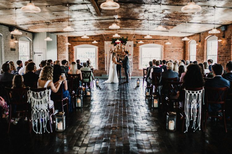 Wedding Ceremony At The West Mill Derby // ImageBy Carla Blain Photography