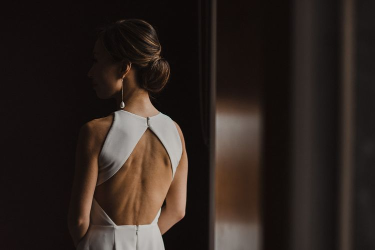 Backless Fitted Wedding Dress