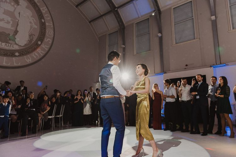 Bride and Groom Wedding First Dance