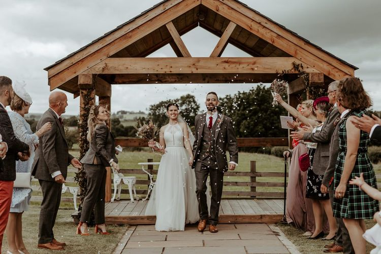 COVID wedding at Eden Barn in the Lake District