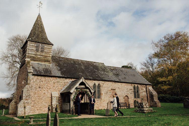 Autumn Wedding At Dewsall Wedding Church