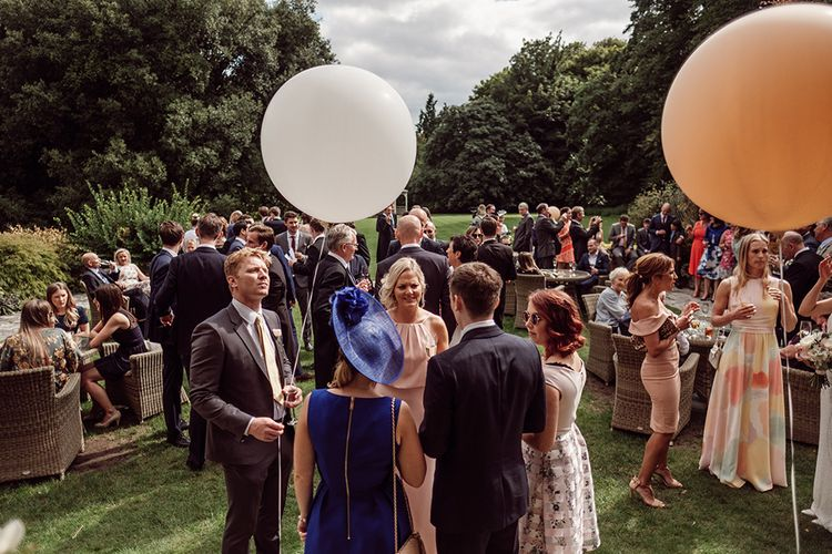Balloons | Traditional Wedding at Lainston House Hotel, Hampshire | RMW The List Supplier Jason Mark Harris Photography