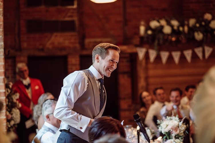 Speeches | Traditional Wedding at Lainston House Hotel, Hampshire | RMW The List Supplier Jason Mark Harris Photography