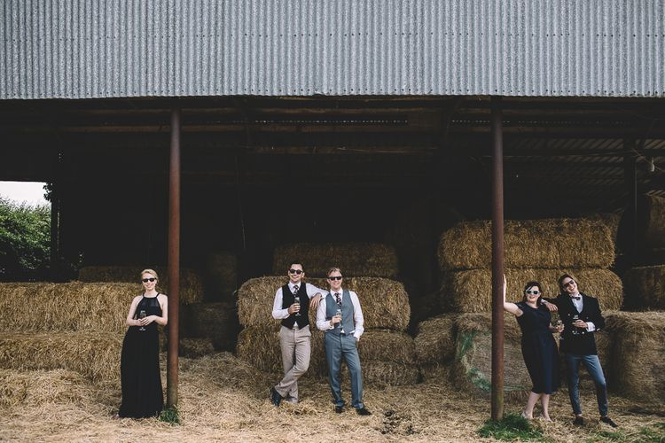 Relaxed Group Shoots At Wedding // Carrie Lavers Photography
