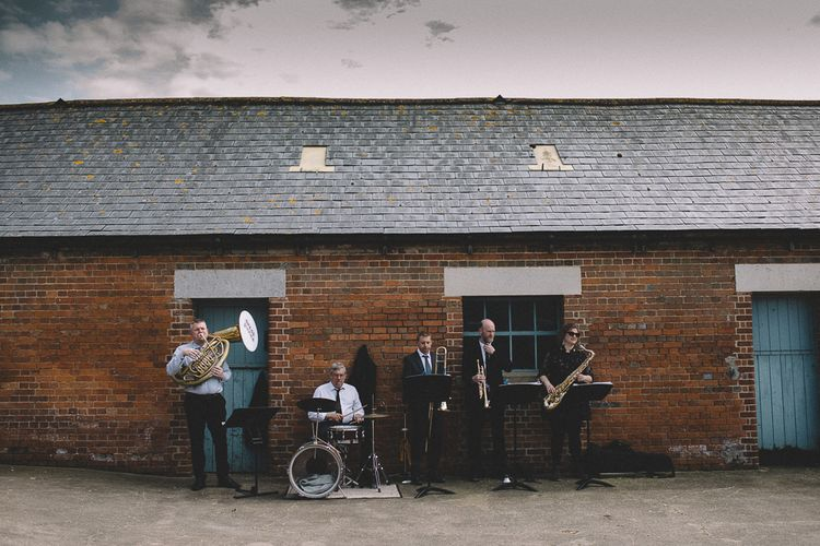 Brass Band At Wedding // Carrie Lavers Photography