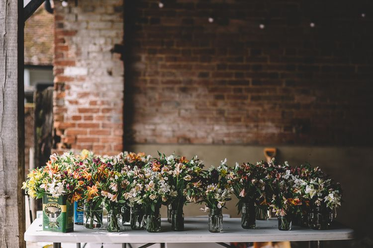 Alstroemeria Wedding Flowers // Carrie Lavers Photography