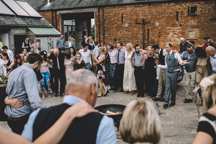 Relaxed  & Fun DIY Wedding At Warborne Farm // Homemade Origami  Details // Grooms In Vintage Suits // Carrie Lavers Photography