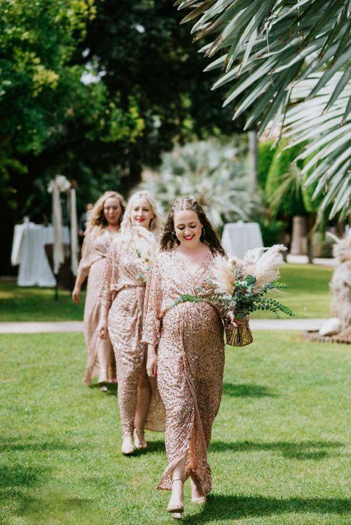 Sequin bridesmaid dresses from ASOS