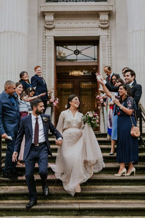 Intimate wedding in London by Maja Tsolo Photography