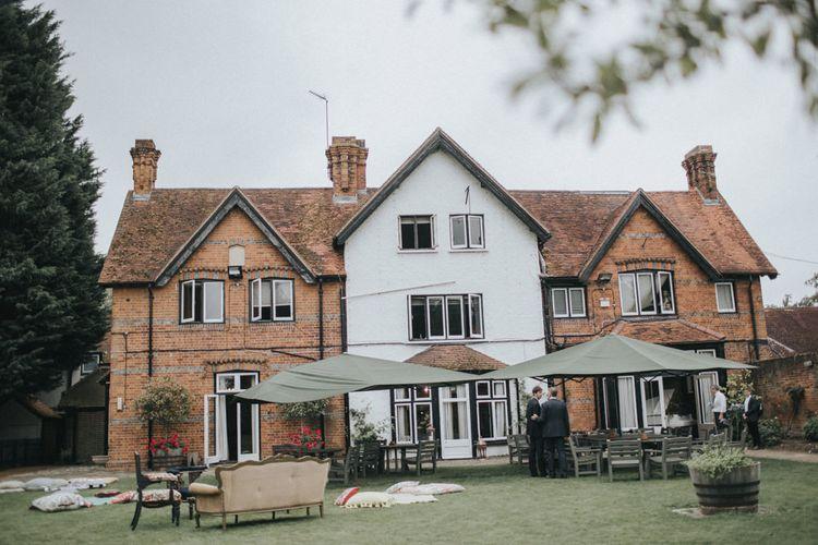 Intimate Wedding at The Olde Bell Pub, Berkshire | Revival Rooms Floral Design, Decor & Styling | Grace Elizabeth Photo & Film