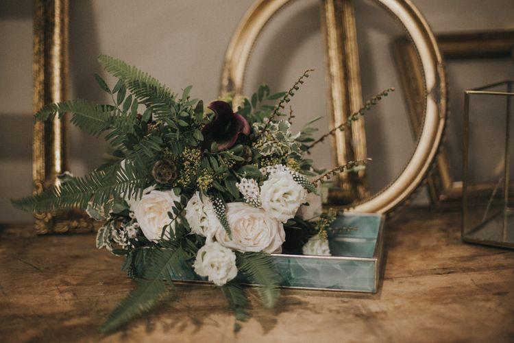 Bridal Bouquet | Intimate Wedding at The Olde Bell Pub, Berkshire | Revival Rooms Floral Design, Decor & Styling | Grace Elizabeth Photo & Film