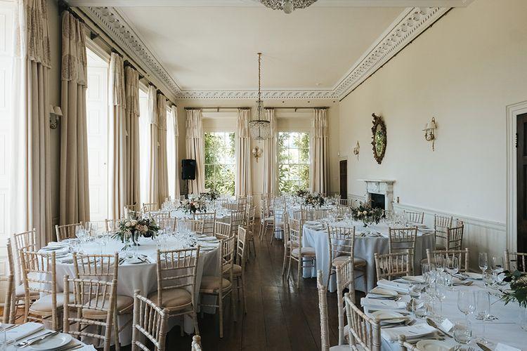 Formal Dining Room of Pynes House, Devon