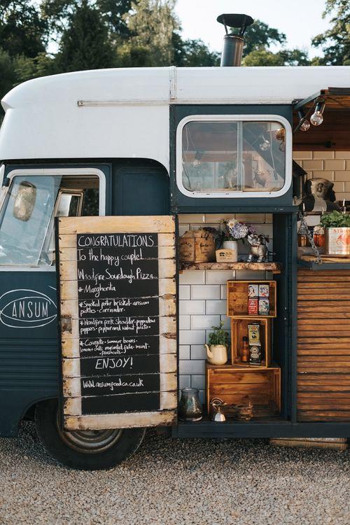 Food Truck Black Board