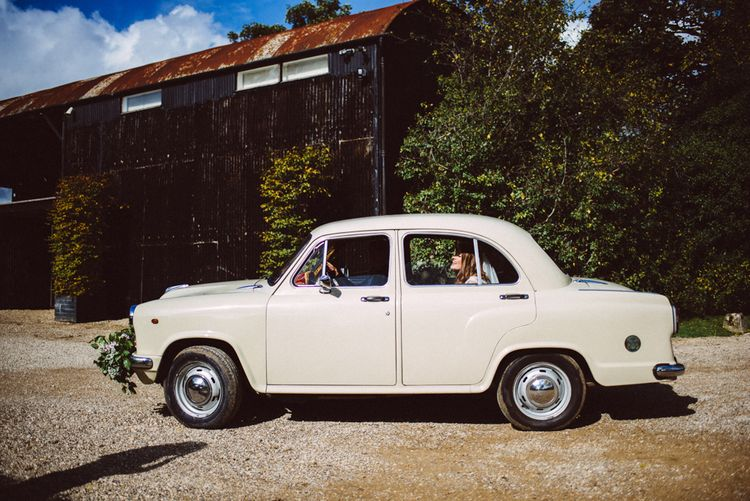 Kushi Car Wedding Transport // Image By Ed Godden
