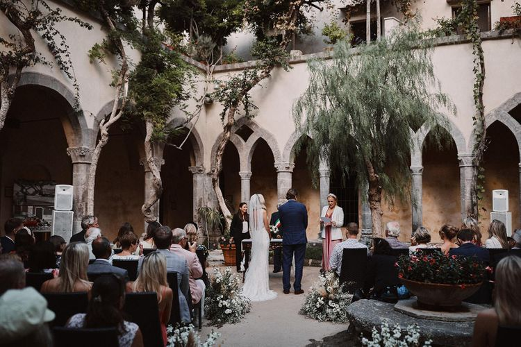 Sorrento wedding planned by Wiskow & White