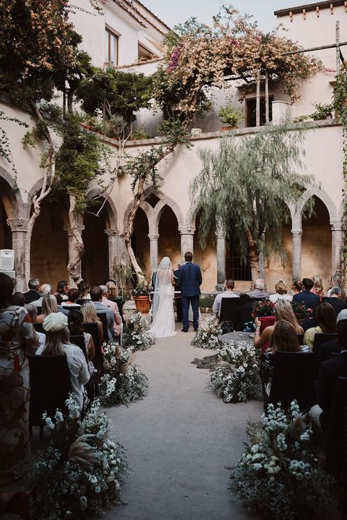 Intimate Italian destintion wedding in Sorrento