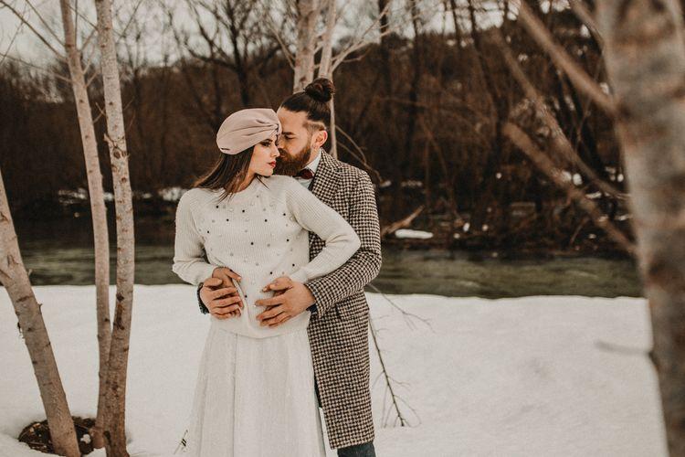 Snow Italian elopement ideas