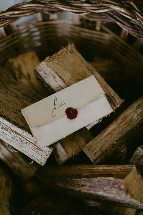 Letter with Wax Seal