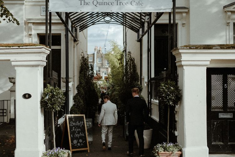 Orange, White & Green Boho Wedding at Clifton Nurseries London    Olivia & Dan Photography