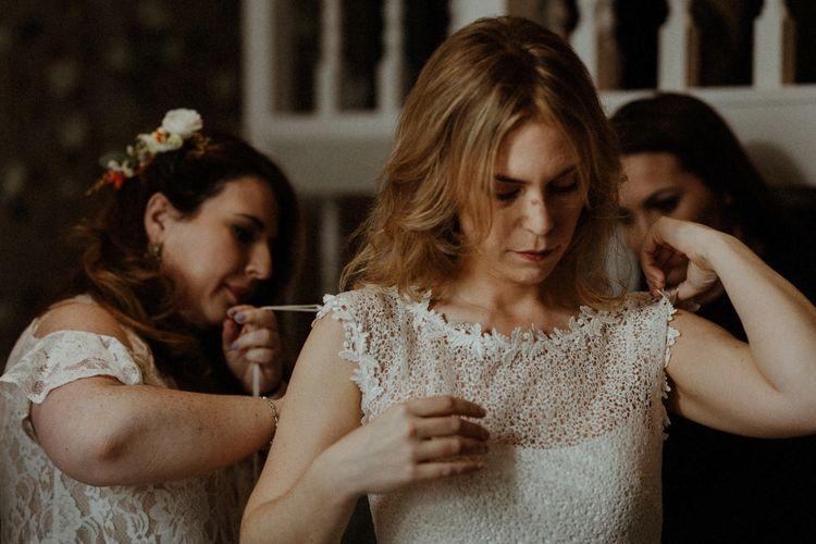 Wedding Morning Bridal Preparations   Orange, White & Green Boho Wedding at Clifton Nurseries London    Olivia & Dan Photography