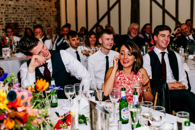 Colourful Alternative Winter Wedding at Upwaltham Barns, Sussex | Epic Love Story Photography