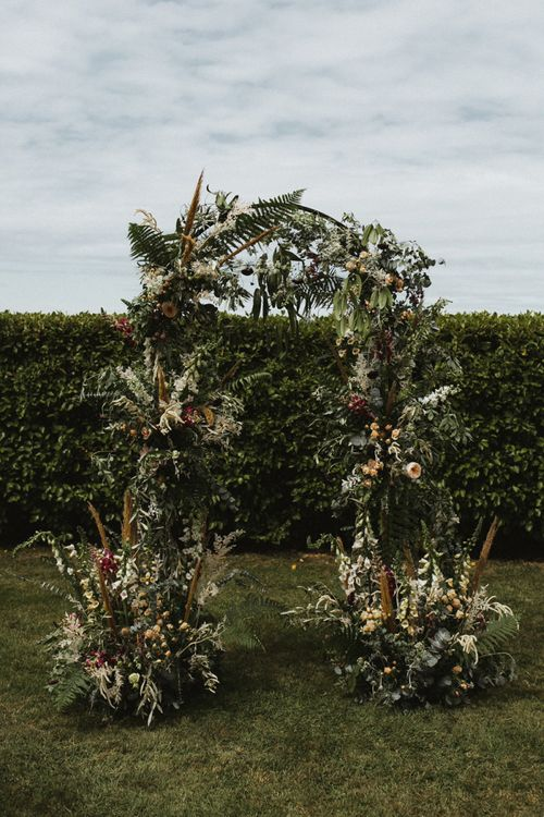 Flower Arch with Foliage and Flower