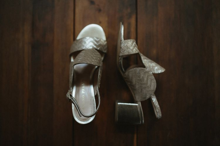 Block Heel Bridal Shoes