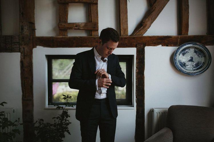 Groom Wedding Preparations
