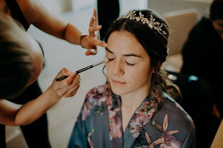 Bridal preparations and bridal beauty