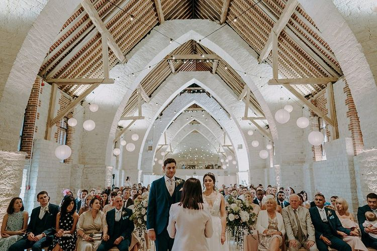 Barn wedding venue in Hampshire