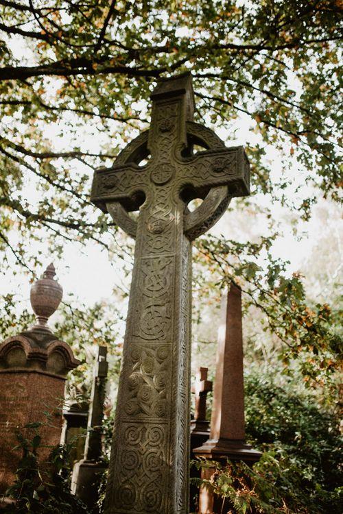 Grave Stone in Cemetery