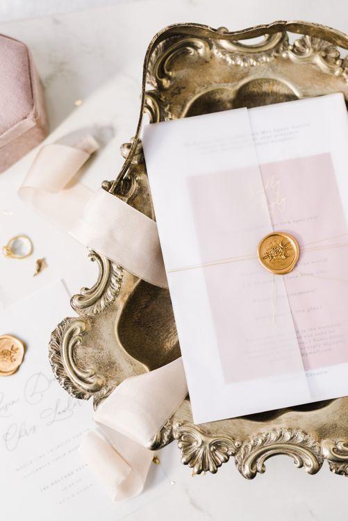 KnockKnockPenny Studio Wedding Stationery | Spring Wedding Colours for 2019 | Soft & Muted Spring Wedding Inspiration