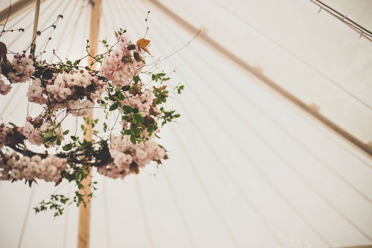 Blossom Floral Hoop | Spring Wedding Colours for 2019 | Soft & Muted Spring Wedding inspiration | The Garden Gate Flower Company | Images by Amy Shore Photography