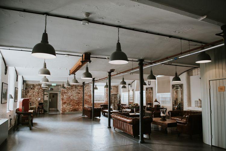 Industrial Wedding Venue The West Mill in Derbyshire
