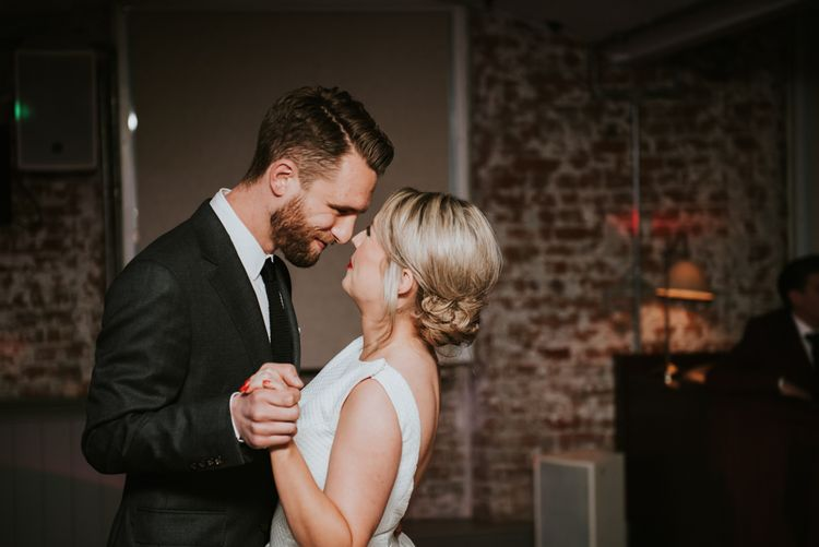 Bride and Groom First Dance at The West Mill