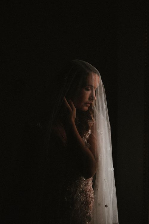 Bespoke Wedding Veil By Julita London // Image By James Frost Photography