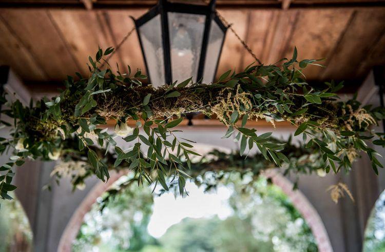 The Summerhouse Wedding Hoop Installation