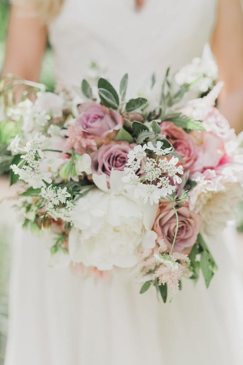 Blush Pink Bouquet by Catherine Short Floral Design
