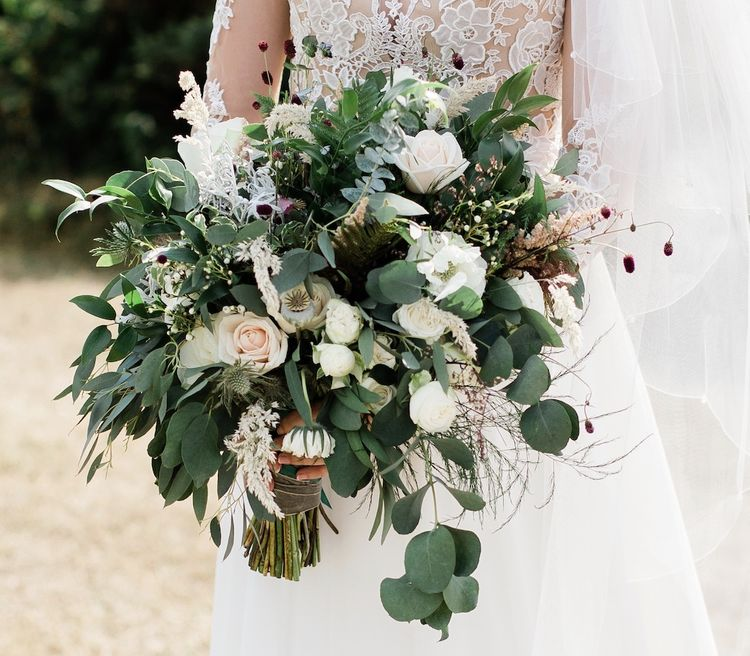 Muted Wild Bouquet by Forever Blossom with Image by FringePhotography