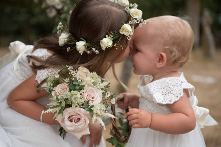 Flower Girl Floral Crown by The Summerhouse