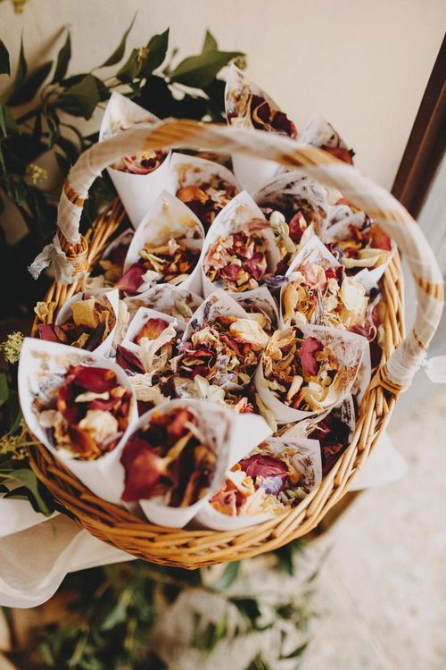 Dried Flower Petal Confetti For Wedding
