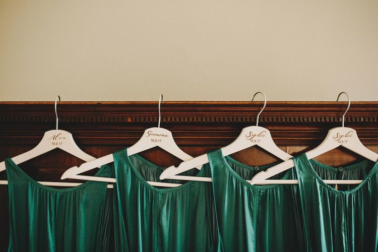 Forest Green Bridesmaids Dresses From Mango