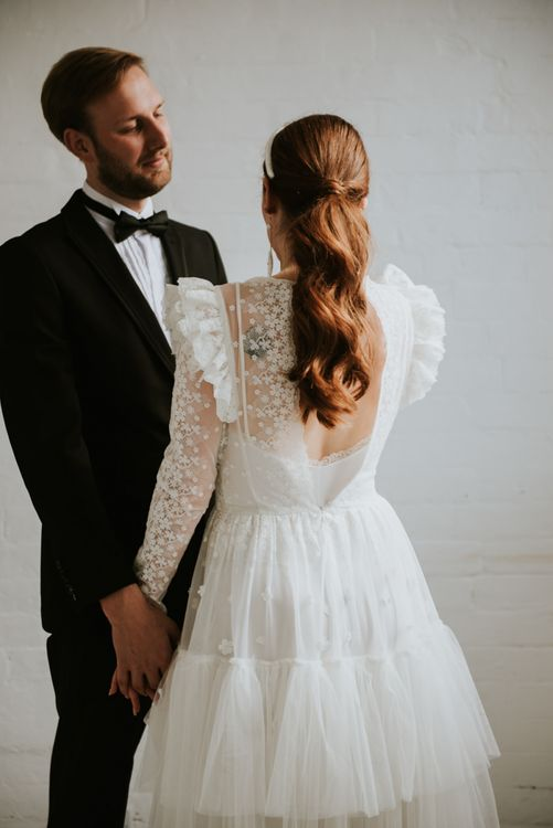 Vintage inspired wedding dress by KATYA KATYA wedding dress